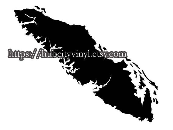 Vancouver Island Vinyl Decal - Custom vinyl decals vancouver bc