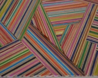 A4 Abstract pencil Art