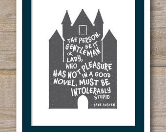Digital File - The Person Who Has Not Pleasure in a Good Novel - Jane Austen - Northanger Abbey