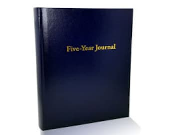 Five-Year Journal (Navy Blue)