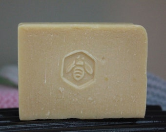 Peppermint Rosemary Cold Process Soap