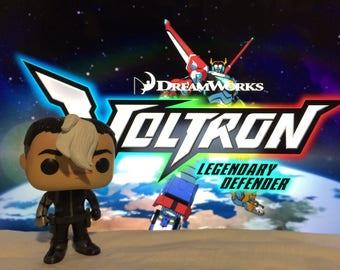 Custom - Funko Pop - Shiro - Voltron - Legendary Defender