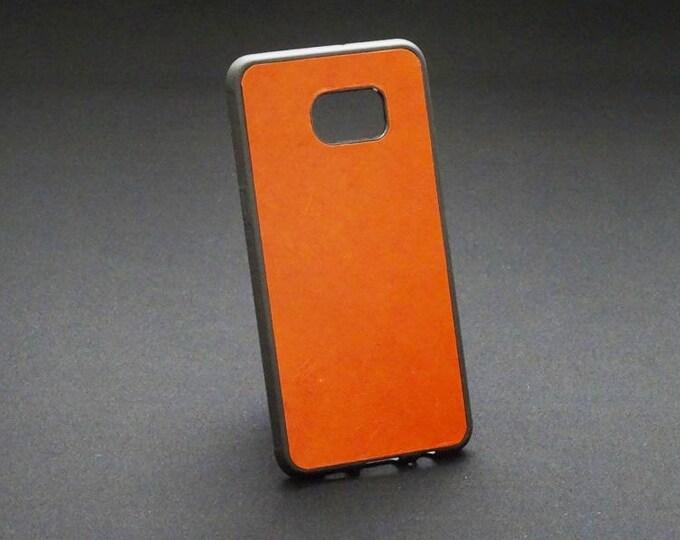 Samsung Galaxy S6 Edge Plus - Jimmy Case in Whiskey Tan - Kangaroo leather - Handmade - James Watson