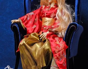 """Chair SD+ (72cm / 28""""), BJD Doll Armchair"""