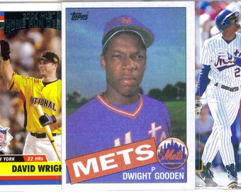 NEW YORK METS Baseball Team Lot - 250 Assorted Cards