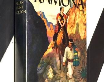 Ramona by Helen Hunt Jackson (hardcover book)