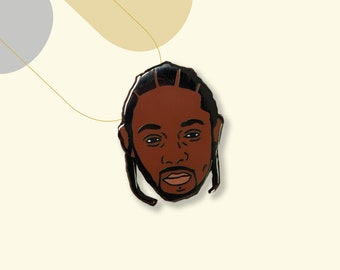 Kendrick Lamar Enamel Pin Badge // Brooch/Lapel Pin