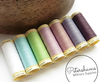 Gutermann 7 Spool Set (100m each) Polyester Sew-All Thread - Notting Hill London Collection