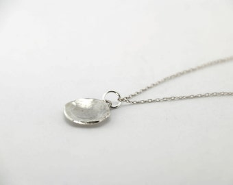 Sterling Silver Worry Necklace