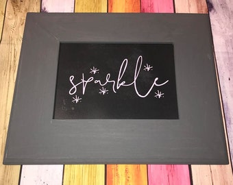 Sparkle Wall Decor   Ready To Ship   Gift For Her   Sparkle   Pink