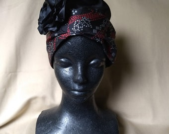 Turban hat, period hat, 1920's style hat