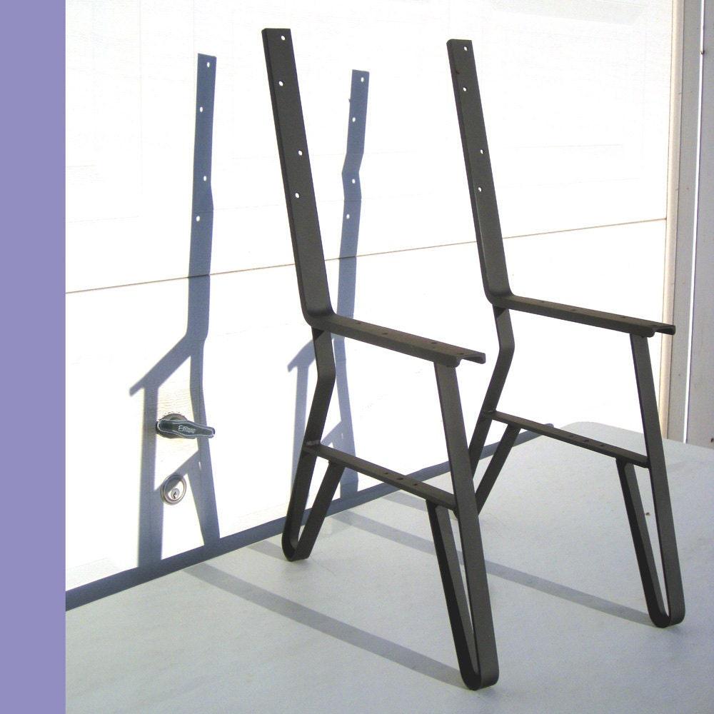 Park Bench Metal Leg Kit For DIY Bench Metal Frame 15-3/4