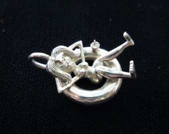 Sterling Silver Tubing Charm