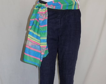 ladies jeans size 14 with free scarf