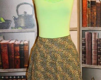 Vintage Corduroy Skirt