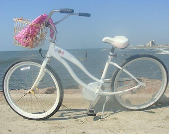 Beach Cruiser Bike on Galveston Island