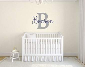 Name decals, Wall letter decals, Personalized wall decals, Large letter stickers, Custom name wall decals, Wall stickers for bedroom DB350