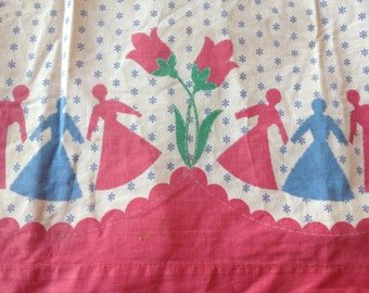 Vintage apron from the 50's