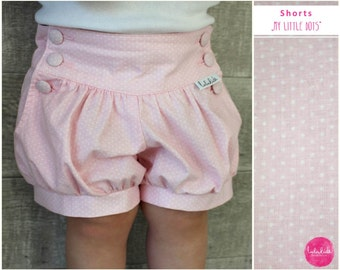 Bloomers Bubble Shorts short trousers bloomers pants girl rose Quartz gift summer outfit birthday outfit