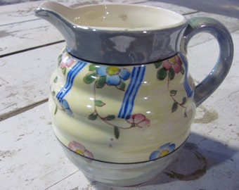 Antique Lusterware Pitcher 1920's - 1940