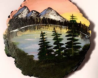 Chasing the Sky Nature Scene Coaster