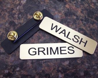 Walking Dead Rick GRIMES or Shane WALSH name tag