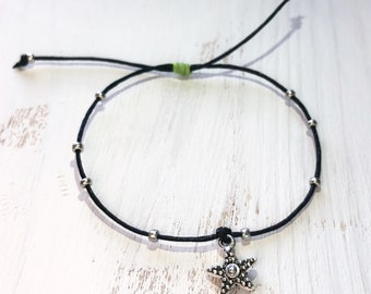 Black starfish bracelet