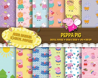 Peppa Pig 1 Digital Paper