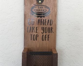 Beer Bottle Opener Wall Hanger