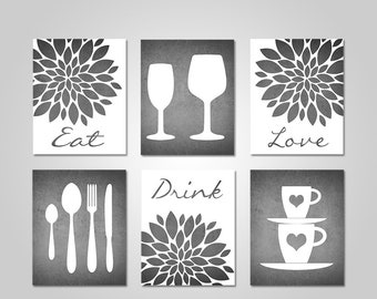 Kitchen Wall Art   Dining Room Wall Art   Kitchen Wall Decor   Dining Room  Wall