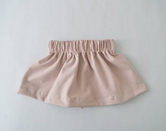 Baby skirt powder pink-baby clothes
