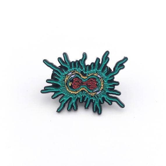 Mitosis Pin - Soft Enamel Collector Art Science Pin