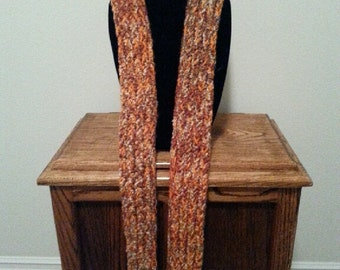Fall Harvest Crocheted Scarf