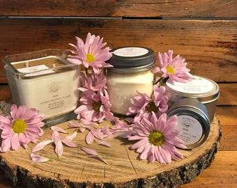 Gardenia / Lily Scented Candle   Soy Scented Candle   Spring Candle   Travel Candle   Soy Wax Candle   Floral Candle   Bloom Scent