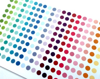 Planner Stickers Small Dots Color Coding