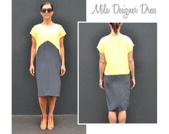 Mila Designer Dress - Sizes 16, 18, 20 - Women's pull on dress PDF Sewing Pattern by Style Arc - Sewing Project - Digital Pattern