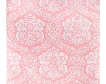 1970s French Dreamy Pink Wallpaper