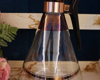 Copper Trimmed Coffee Carafe