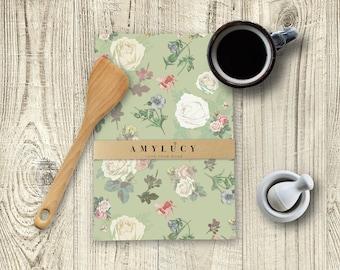 Tea Towel, Bee Tea Towel, Nature Tea Towel, Green Garden Tea Towel, Kitchen Decor, Kitchen Linens, Kitchen Textiles