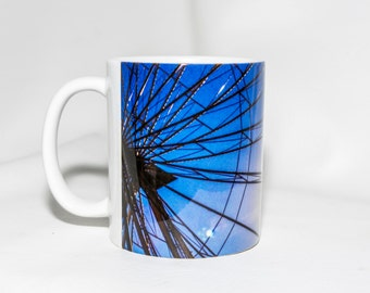 11oz Coffee Mug - ferris wheel