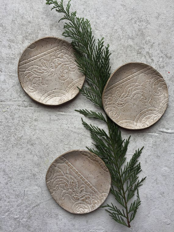Ivory Lace Small Plates