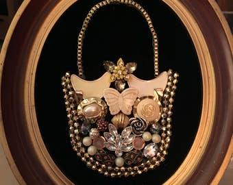 Handmade jewelry collage