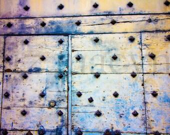 Decorative Metal Wall Art - Wall Art Decor - Metal Wall Art - Wrought Iron Art - Art on Canvas - Office Art - Urban Decor - Bleed Print