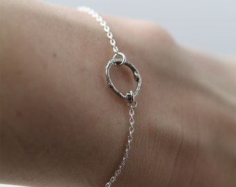 Silver Twig Bracelet - Gift for Her - Branch Bracelet - Gift for Women - Bridesmaid Gift - Botanical Jewelry