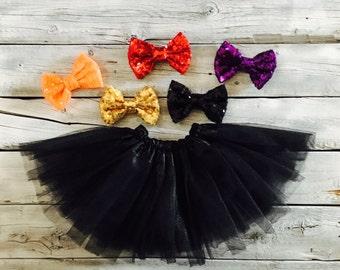 Black tutu, cat tutu, cat halloween costume, black, tutu, birthday tutu, baby tutu, newborn tutu, toddler tutu, girl tutu