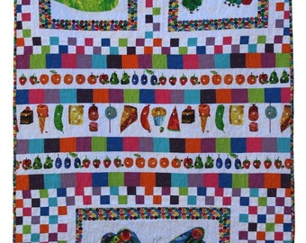 So Hungry - Very Hungry Caterpillar Quilt PDF Sewing Pattern