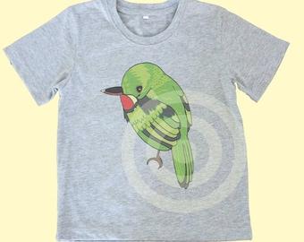 Puerto rican bird shirt Kids tshirts -Toddler tees -Toddler shirts - Cute Toddler shirts - Boy shirt - Girl shirt