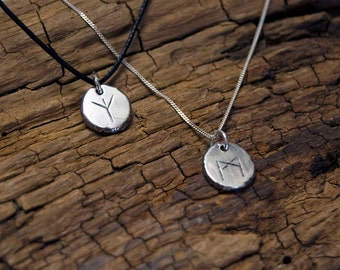Solid Silver Rune Charms/Pendants