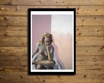 Poster Artistico 50x70cm Nude 1