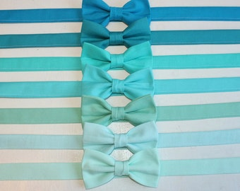 Turquoise, Mint, Aqua, Seafoam, Teal Bow Tie kids, toddler, baby, boys, ringbearer, wedding, photoshoot, Mint Wedding